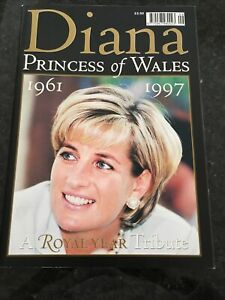 Diana Princess Of Wales - A Royal Year Tribute Magazine