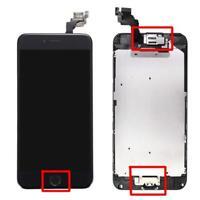 Display für Apple IPHONE 6 mit Original Retina LCD komplett VORMONTIERT Schwarz