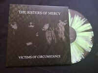 SISTERS OF MERCY VICTIMS OF CIRCUMSTANCE  RARE CLEAR GREEN VINYL LP