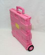 Rosa 35KG Carrello per la spesa pieghevole Storage Box Carrello Boot Crate AUTO FURGONE CAMPEGGIO