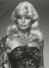 Loni Anderson Original B&W Autographed Picture Television Star Sexy Blonde WKRP