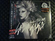 Rare CD LADY GAGA Born This Way 2011 (Japan) Cardboard Sleeve (Sealed)