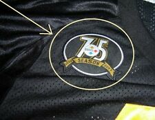SUPER BOWL CHAMPION PITTSBURG STEELERS 75TH SEASON (1933-2007) JERSEY PATCH