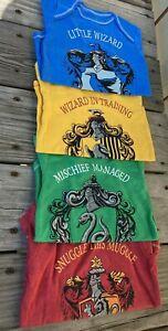 Warner Bros. Harry Potter Baby Boys Hogwarts 4 Pack Bodysuits 12 M NIP