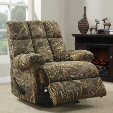 Camouflage Rocker Recliner Chair Dorel Home Realtree Dual Function Sturdy NEW