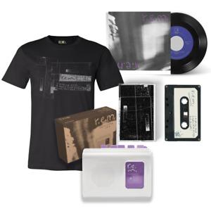 """R.E.M. RADIO FREE EUROPE - Cassette Player, Demo Tape, 7"""" + T-Shirt - REM RARE"""