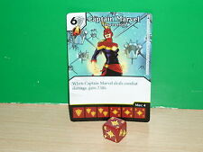 DICE MASTERS MARVEL Age of Ultron Rare - 110 Captain Marvel