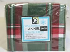 Brand New Living Quarters Cold Weather Flannel Twin Sheet Set
