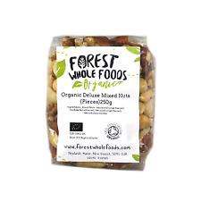 Organic Deluxe Mixed Nuts Pieces (Macadamia, Pecan, Walnut, Brazil, Cashew) 250g