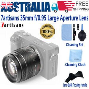 7artisans 35mm F0.95 Lens XXL Aperture for FUJIFILM X Canon EF Sony E Nikon M/43