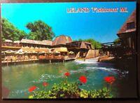 Vintage Leland, Michigan- The Little Dam Holds Back Lake Leelanau.