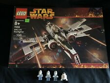 Lego Star Wars Episode III 7259 ARC-170 Starfighter 100% complete