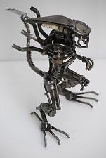 Alien (B) Metal Sculpture Cool Gift for Xmas Scrap Metal Art Xenomorph Alien