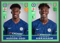 CALLUM HUDSON ODOI TAMMY ABRAHAM ROOKIE STICKER PANINI FIFA 365 2019/20 🔥INVEST