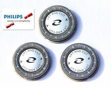 Original 3x Afeitadora jefes Lámina Cuchilla Cutter Para Philips Norelco Hq56 Hq55 Hq4 Hq3 +