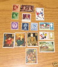 United Kingdom Stamps 1937 - 1966 Lot /15 Vintage