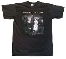 Within Temptation Official Tour 2007 the heart of everything WOW NASTRO T-SHIRT M