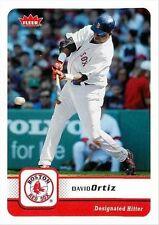 Fleer David Ortiz Boston Red Sox Original Baseball Cards