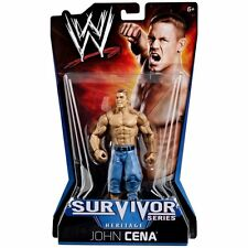 WWE JOHN CENA ACTION FIGURE SURVIVOR SERIES HERITAGE 2010  *NEW*