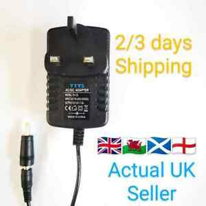 UK 12V AC POWER SUPPLY ADAPTER COMPATIBLE FOR HUMAX HB-1100S SATELLITE RECEIVER
