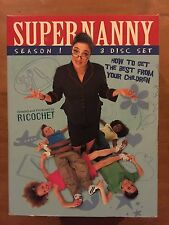 Supernanny Season 1 - 3  disc set - DVD - Free Post!!
