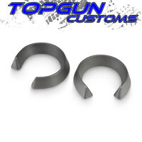 """2.5"""" Front Leveling Lift Kit Coil Spring Spacers For 99-07 GMC Sierra 1500 2WD"""