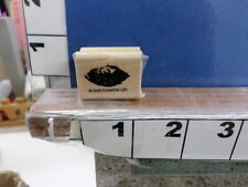 shape eye etched  2005 stampin up rubber stamp 7n