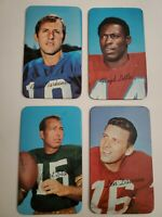 1970 Topps Football Super Set 35 Cards. Very nice. EX,MINT,NM.