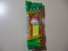 PEZ: Bugs Bunny with hat, green pack, yellow stick, Brand New and Sealed