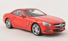 Mercedes SL500 (R231) Hard Top 2012 Red 1:18 Model 18046H-RT WELLY
