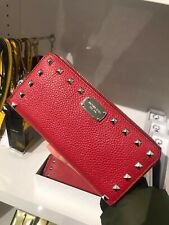BRAND NEW Michael Kors  red wallet  Leather