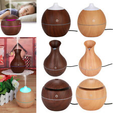 LED Ultrasonic Diffuser Essential Oil Aromatherapy Air Humidifier Purifier Home