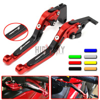 Folding Extendable Adjustable Brake Clutch Levers For HONDA CBR1100XX 1997-2007
