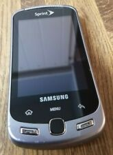 Samsung Moment SPH-M900 Black Qwerty Android Sprint Cell Phone