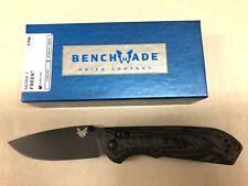 NEW Benchmade 560BK-1 Freek Axis Lock Plain Edge Black CPM-M4 Folding Knife