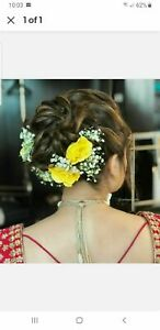 Indian Women 10 HAIR ACCESSORIES Floral Jewelry Whole Sale Price Bridal