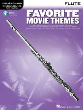 Favorite Movie Themes Flute Play-Along Book with Online Audio Instrume 000841166