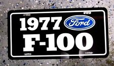 1977  Ford F-100 Pickup License plate tag 77  F100 Pick Up Truck Hot Rod Classic