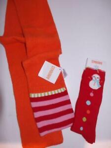 Gymboree COZY CUTIE SCARF & Snowman SOCKS 5-7 NWT Holiday Christmas winter #B1