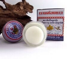 18 g. Thai White Monkey Holding Peach Balm Herbal Muscle Pain Relief Insect Bite