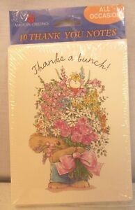 Vintage American Greetings Boomerang Koala Bear Thank You Notes Cards 1 Pack(10)