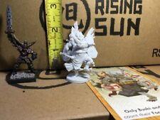 Kami Raijin Thunder God Japanese Samurai Mini 32mm Rising Sun D&d Dnd Bushido KS