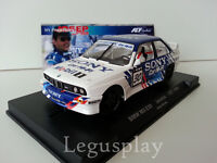 Slot car SCX Scalextric Fly 99123 BMW M3 E30 In Memory Josep Bassas Jarama 1994