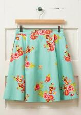NWT MATILDA JANE NATURAL BEAUTY Skirt Large 12 14 Blue Floral Hello Lovely