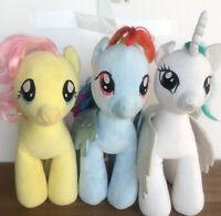 Build A Bear Plush My Little Pony Lot Sound Fluttershy Rainbow Dash Skechers
