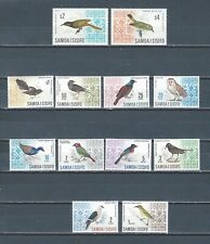 Samoa I Sisifo mnh stamp set to $4 - birds - good catalog