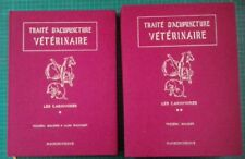 TRAITE D' ACUPUNCTURE VETERINAIRES CARNIVORES CHIENS CHATS RARE EO 1986