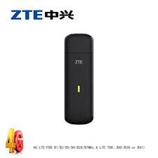 Unlocked ZTE MF833T 4G LTE-FDD B1/B2/B4/B5/B28/B7MHz & LTE TDD: B40(B38 or B41)