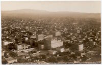 Real Photo Postcard Aerial View of San Diego, California Business Center~107641