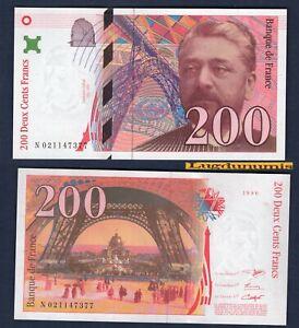 200 Francs Eiffel 1996 D Neuf - Type 1995